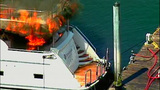 Luxury yacht engulfed in flames at Roche… - (8/20)