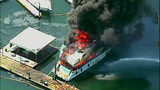 Luxury yacht engulfed in flames at Roche… - (10/20)