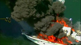 Luxury yacht engulfed in flames at Roche… - (18/20)