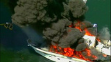Luxury yacht engulfed in flames at Roche… - (19/20)