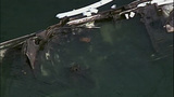 PHOTOS: Burned-out yacht sinks in Roche Harbor - (5/10)