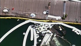 PHOTOS: Burned-out yacht sinks in Roche Harbor - (4/10)