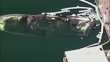 PHOTOS: Burned-out yacht sinks in Roche Harbor - (1/10)