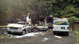 Motor home, boat, trailer, cars burn in fire - photos - (1/5)