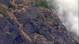PHOTOS: Big Rock fire burns near Mount Vernon - (6/19)