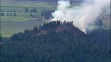 PHOTOS: Big Rock fire burns near Mount Vernon - (8/19)
