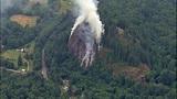 PHOTOS: Big Rock fire burns near Mount Vernon - (3/19)