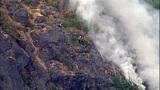 PHOTOS: Big Rock fire burns near Mount Vernon - (5/19)