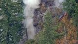 PHOTOS: Big Rock fire burns near Mount Vernon - (12/19)