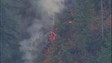 PHOTOS: Big Rock fire burns near Mount Vernon - (9/19)