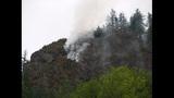 PHOTOS: Big Rock fire burns near Mount Vernon - (1/19)