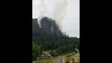 PHOTOS: Big Rock fire burns near Mount Vernon - (17/19)