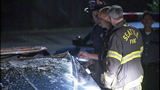 PHOTOS: Cadillac torched in possible hate crime - (11/14)