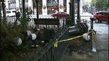 PHOTOS: Driver hits Pioneer Square pergola then flees - (8/10)