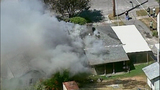 PHOTOS: Flames spread in fast-moving fire - (4/11)