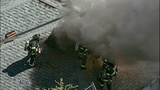 PHOTOS: Flames spread in fast-moving fire - (7/11)