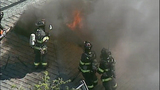 PHOTOS: Flames spread in fast-moving fire - (6/11)