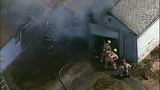 PHOTOS: Flames spread in fast-moving fire - (2/11)