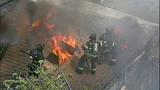 PHOTOS: Flames spread in fast-moving fire - (3/11)