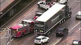 PHOTOS: Scene of collision on SB I-5 - (1/19)