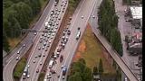 PHOTOS: Scene of collision on SB I-5 - (16/19)