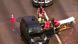 PHOTOS: Scene of collision on SB I-5 - (3/19)