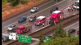 PHOTOS: Scene of collision on SB I-5 - (6/19)