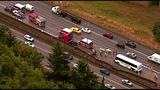 PHOTOS: Scene of collision on SB I-5 - (5/19)