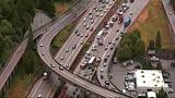 PHOTOS: Scene of collision on SB I-5 - (13/19)