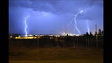 PHOTOS: Storm brings lightning, heavy rain to region - (10/25)