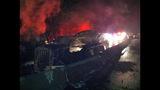 PHOTOS: I-90 closed by fiery crash of 3 semi trucks - (4/20)
