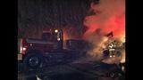 PHOTOS: I-90 closed by fiery crash of 3 semi trucks - (1/20)
