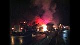 PHOTOS: I-90 closed by fiery crash of 3 semi trucks - (12/20)