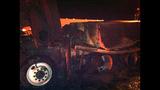 PHOTOS: I-90 closed by fiery crash of 3 semi trucks - (2/20)