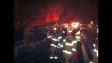 PHOTOS: I-90 closed by fiery crash of 3 semi trucks - (5/20)