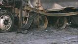 PHOTOS: I-90 closed by fiery crash of 3 semi trucks - (20/20)