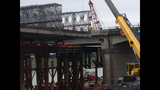 PHOTOS: Crews installing permanent span of… - (7/12)