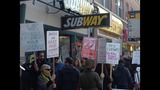 PHOTOS: Protestors picket for fired Subway employee - (5/5)