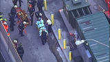 PHOTOS: Workers rescued from construction site trench - (1/11)