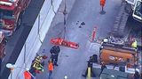 PHOTOS: Workers rescued from construction site trench - (6/11)