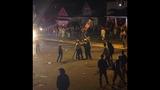 PHOTOS: Police use tear gas, flash grenades… - (12/12)