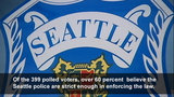 POLL RESULTS: How well are Seattle police… - (3/6)