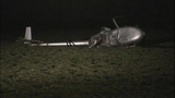 PHOTOS: Helicopter crash-lands in field - (6/9)