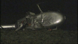 PHOTOS: Helicopter crash-lands in field - (4/9)