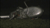 PHOTOS: Helicopter crash-lands in field - (2/9)
