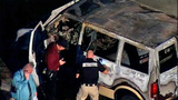 PHOTOS: 2 badly hurt in explosion that gutted van - (5/8)