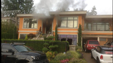 PHOTOS: Fire burns Felix Hernandez' Bellevue home - (10/25)