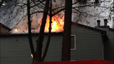 PHOTOS: Crews battle Bellevue apartment fire - (4/11)