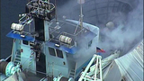 Trawler burns on Seattle's Ship Canal_4124164