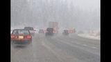 PHOTOS: Snow hits Snoqualmie Pass - (3/5)